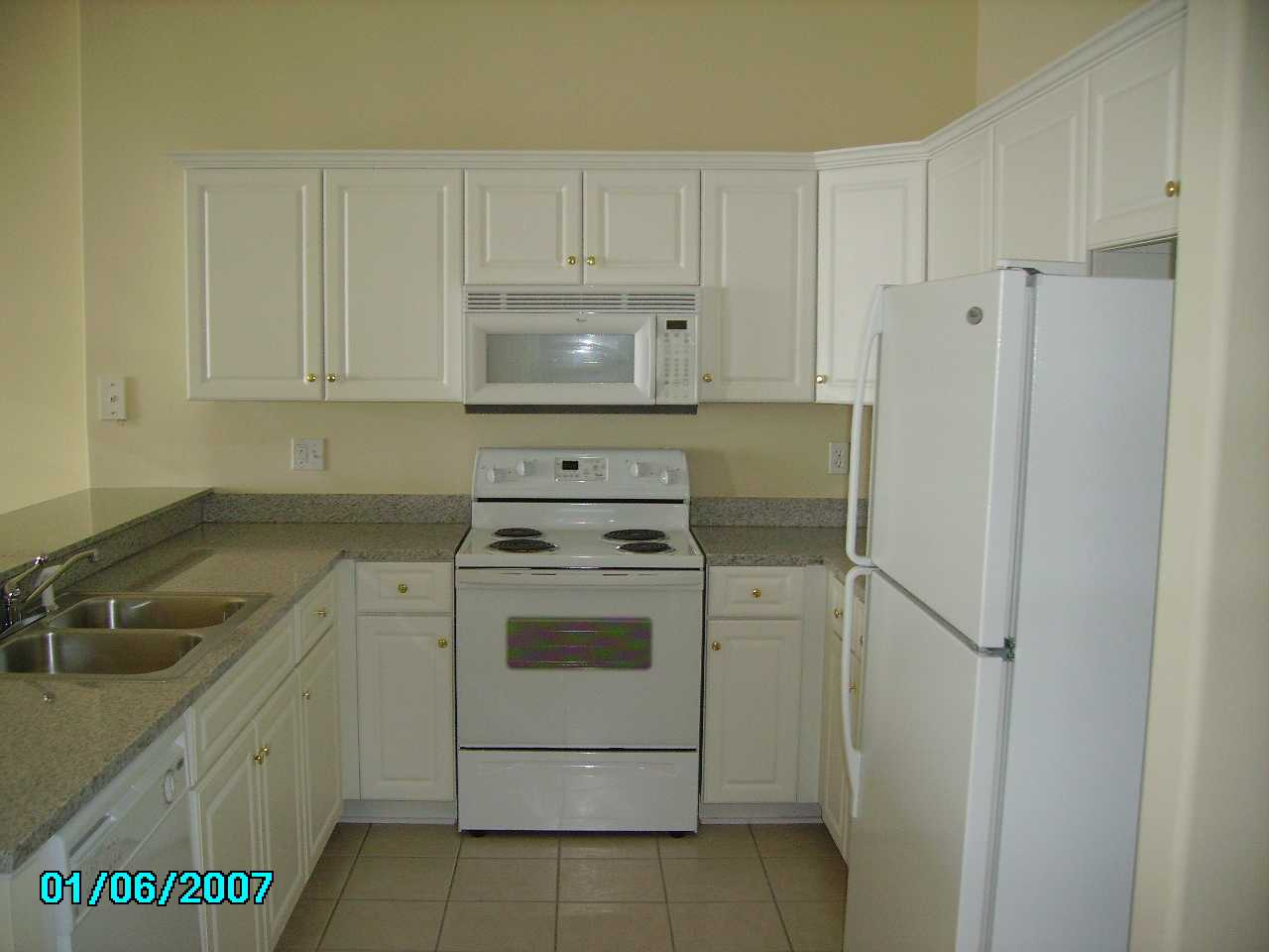 panama city beach ocean villa condo kitchen